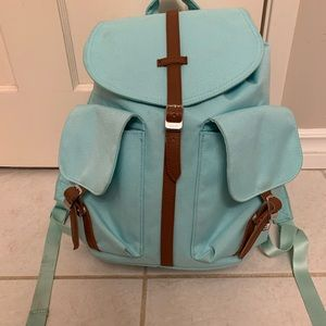 Small Turquoise hershel Dawson backpack
